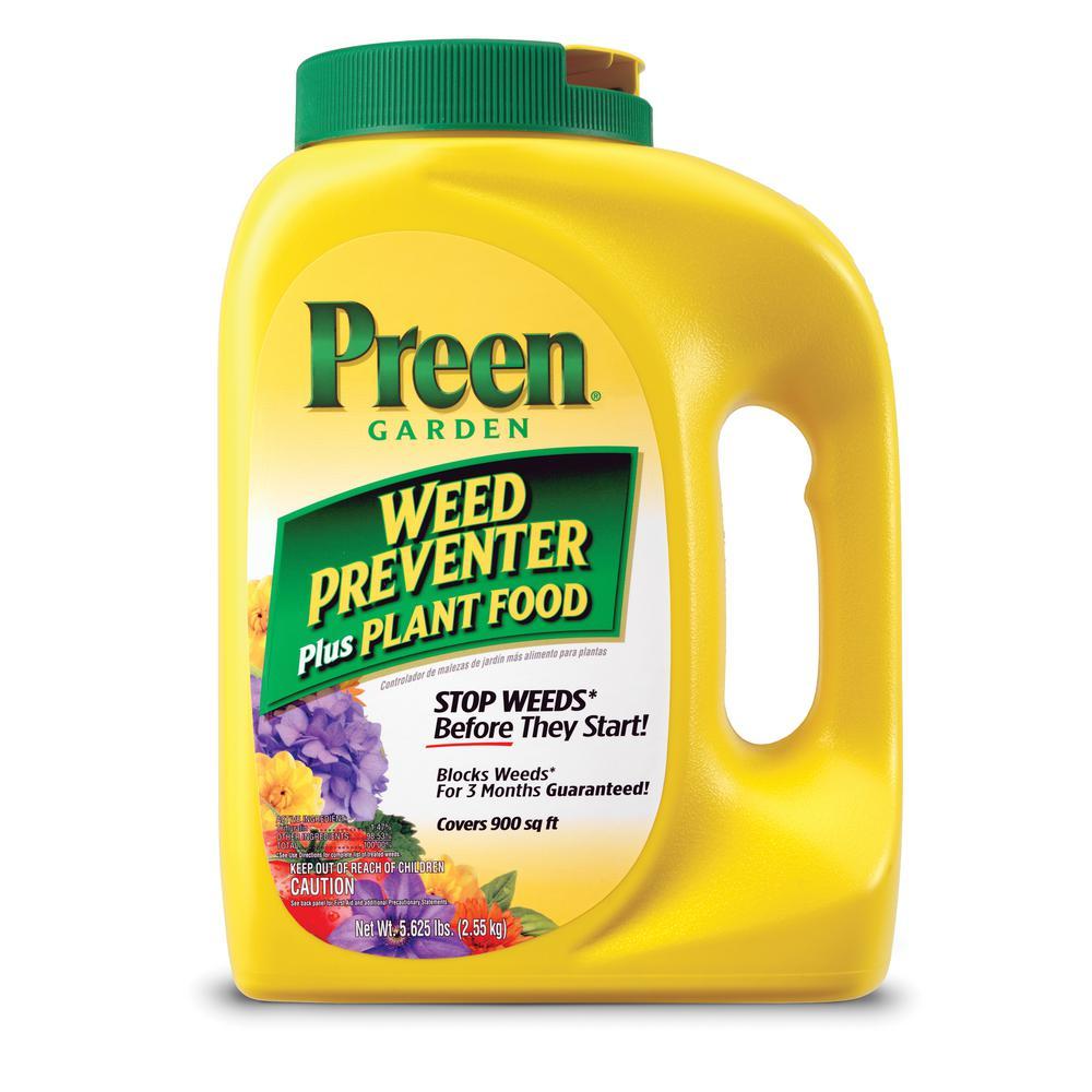 Preen 5.625 lbs. Garden Weed Preventer Plus Plant Food