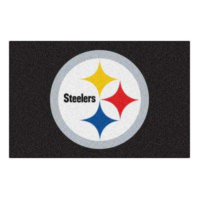 Pittsburgh Steelers 19 in. x 30 in. Accent Rug
