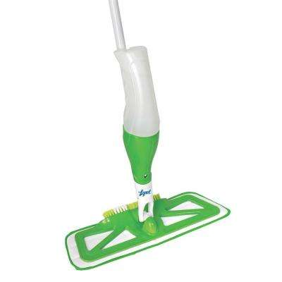 Microfiber Spray Mop with Scrub Brush