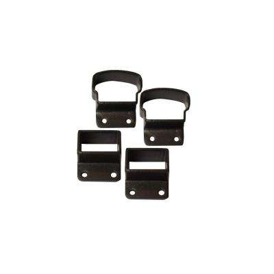 2.75 in. Bronze Top and Bottom Post Mount Kit