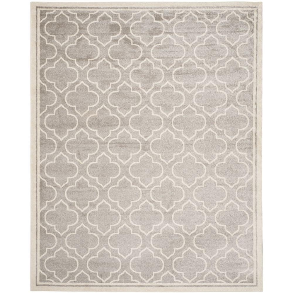 Safavieh Amherst Light Gray Ivory 6 Ft X 9 Indoor Outdoor