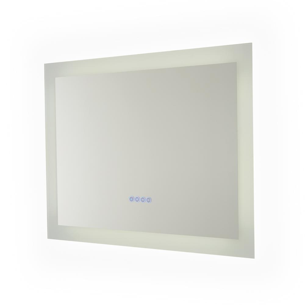 Renin Melody 235 In X 315 In Hardwired Bluetooth Led Illuminated