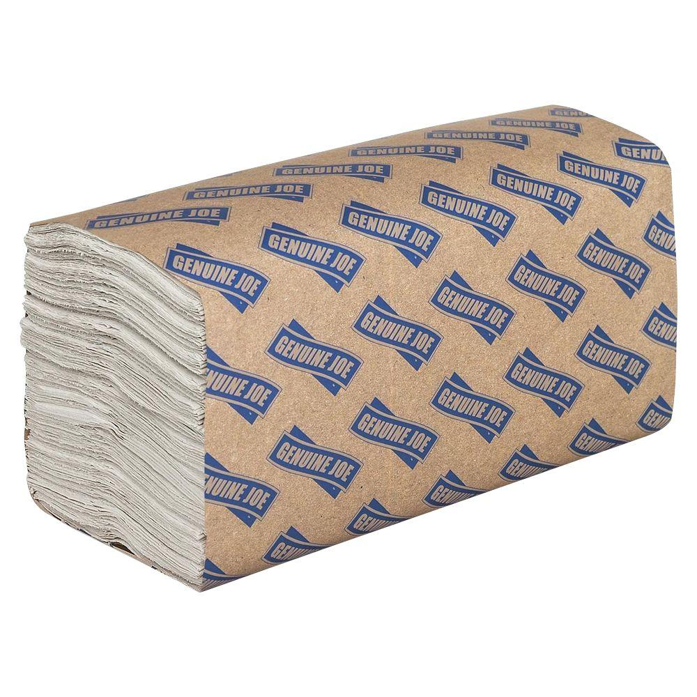 13 in. x 10.1 in. C-Fold Paper Towels (2,400 Sheets per