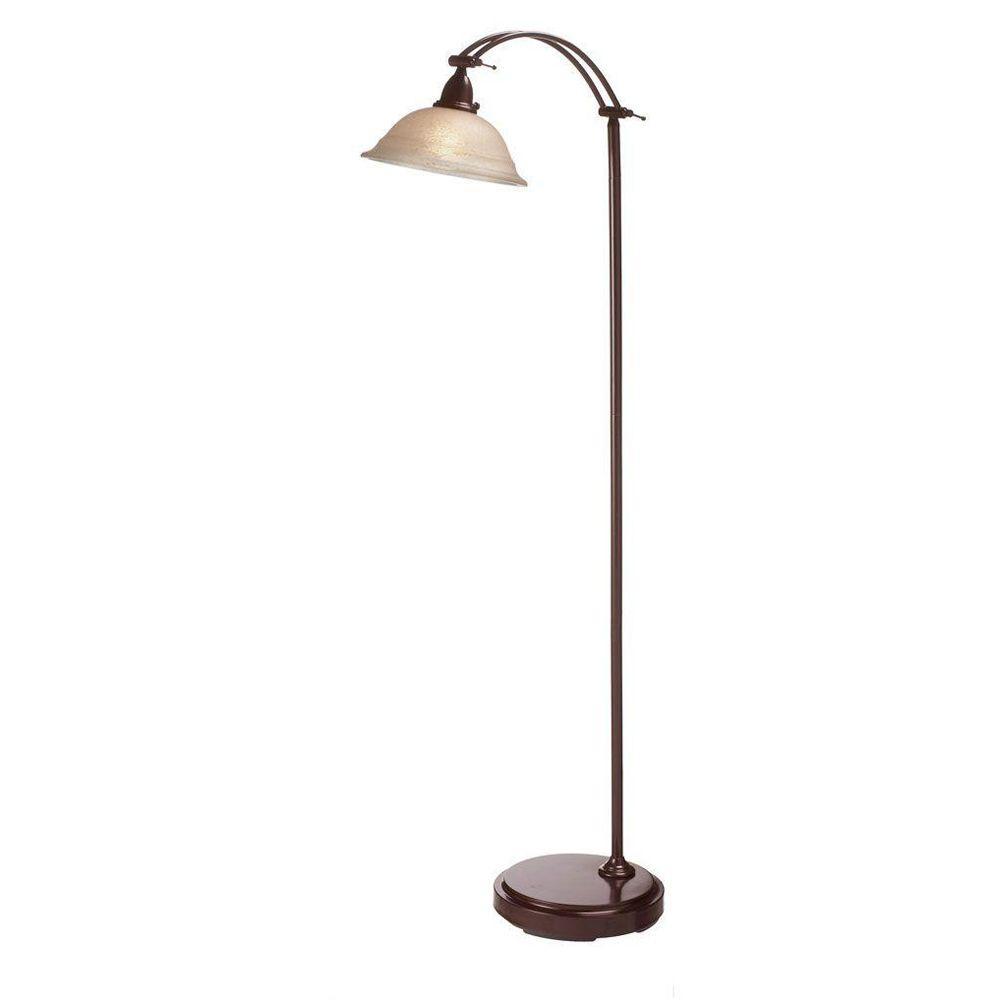 Filament Design Catherine 60 in. Espresso Floor Lamp