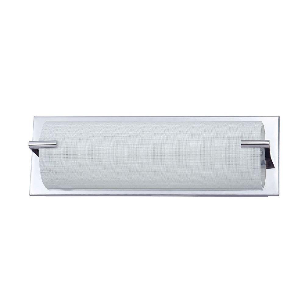 Filament Design Pinyin 3-Light Chrome Bath Vanity Light
