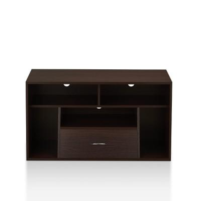 Cher 39 in. Espresso Wood TV Stand with 1-Drawer Fits TVs Up to 39 in. with Cable Management