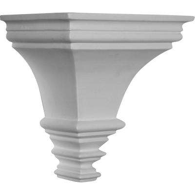 7-1/8 in. x 5-1/8 in. x 7-1/2 in. Primed Polyurethane Traditional Sconce Corbel