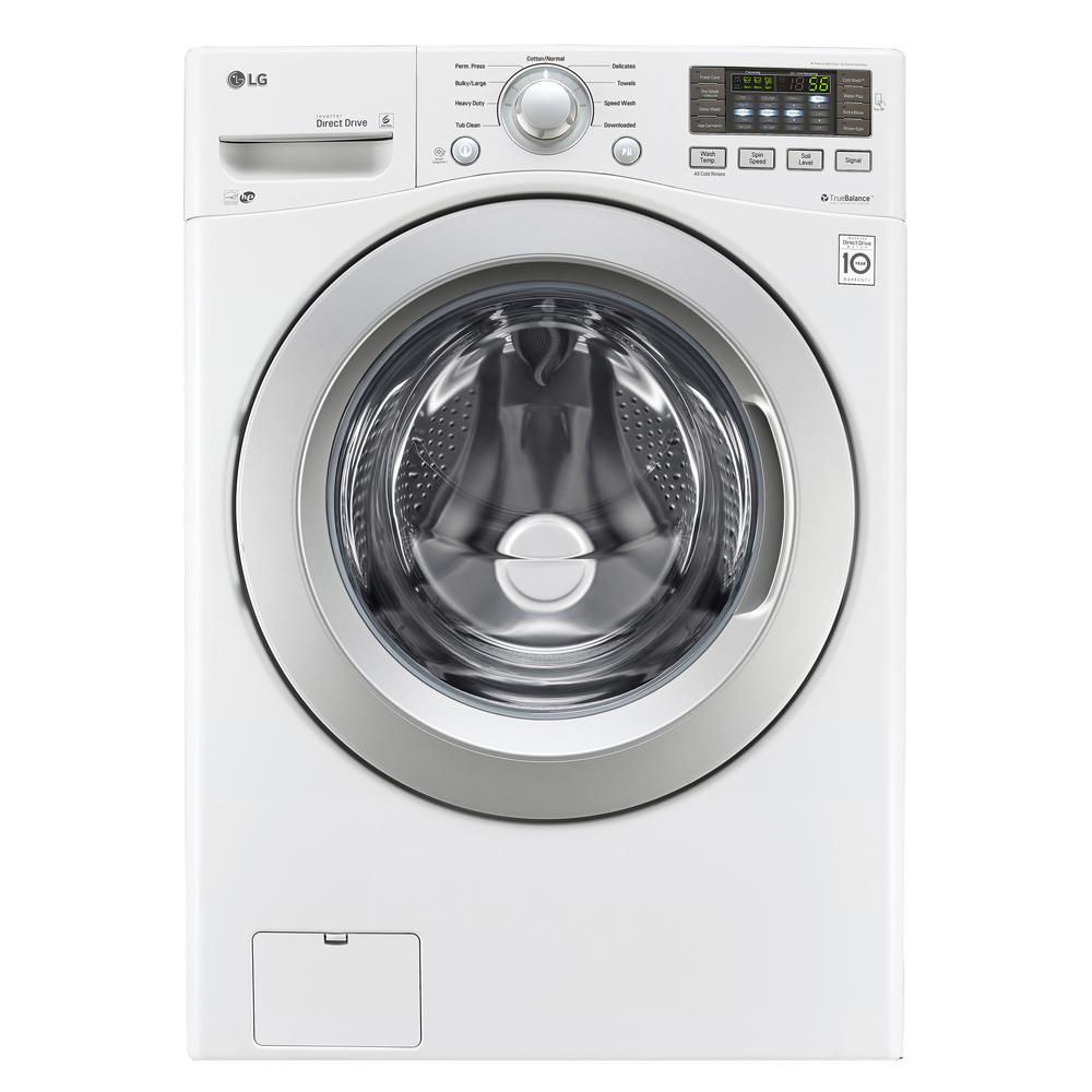 high efficiency front load washer in white energy star