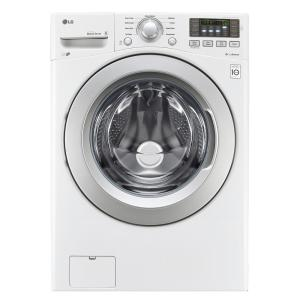 LG Electronics 4.5 cu. ft. High Efficiency Front Load Washer in White, ENERGY... by LG Electronics