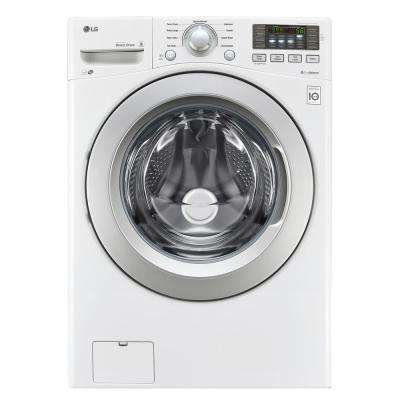 Merveilleux High Efficiency Front Load Washer In White, ...
