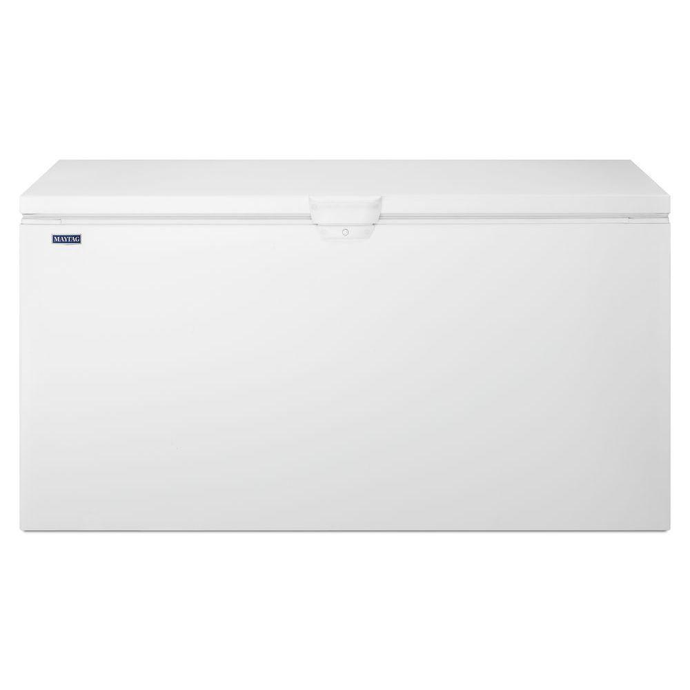 Maytag 21.7 cu. ft. Chest Freezer in White