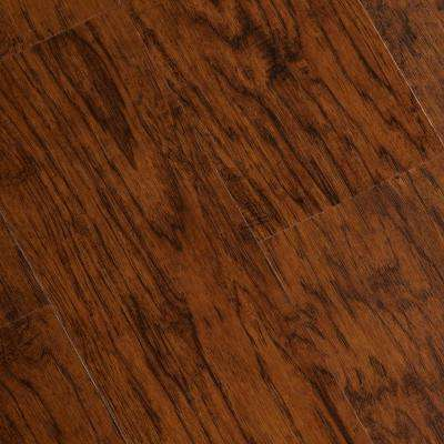 Hand Scraped Burnished Hickory 6 mm x 7-1/16 in. Width x 48 in. Length Vinyl Plank Flooring (23.64 sq.ft/case)