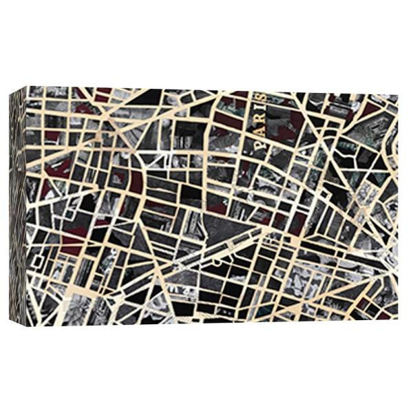 PTM Images 10 in. x 12 in. ''Paris'' Printed Canvas Wall