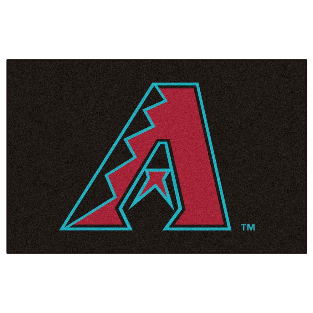 Arizona Diamondbacks 1 ft. 7 in. x 2 ft. 6 in. Accent Rug