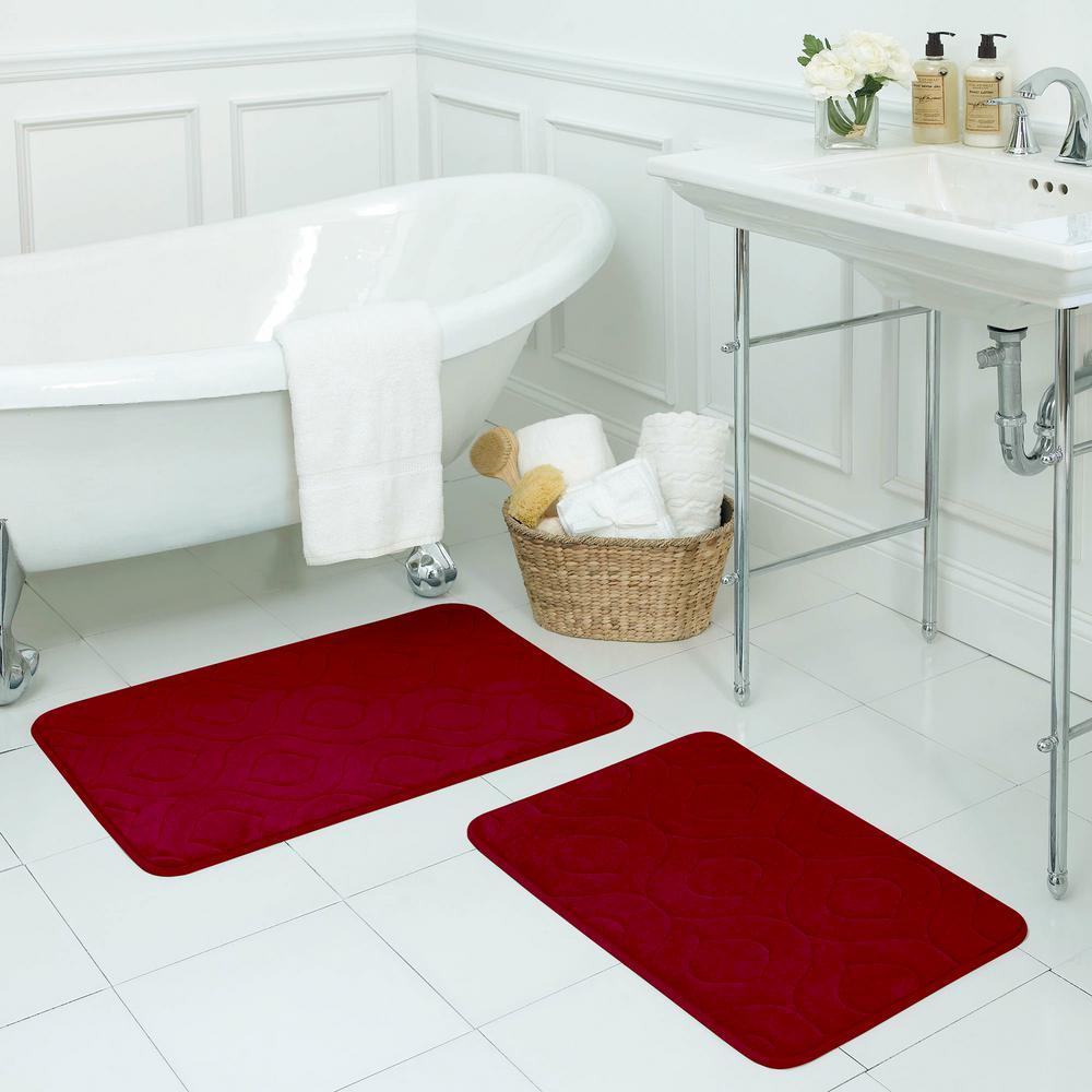 red wallpaper bathrooms, red tile bathrooms, white design bathrooms, on interior design red bathroom barn