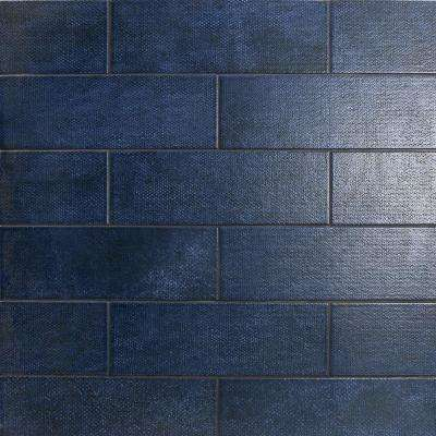 Blue Subway Tile Flooring The