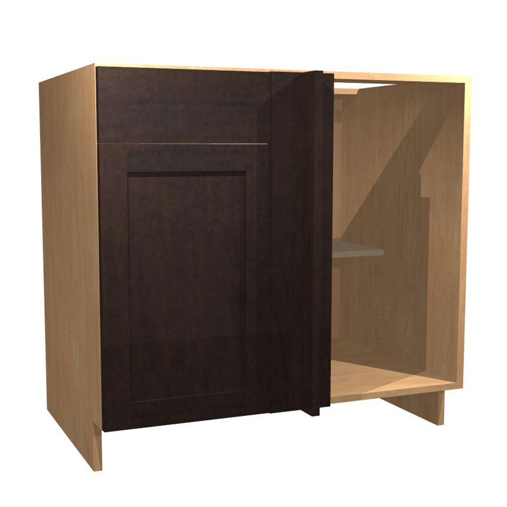 Home Decorators Collection In Elice Blind Base Corner Cabinet With 1 Soft Close Door