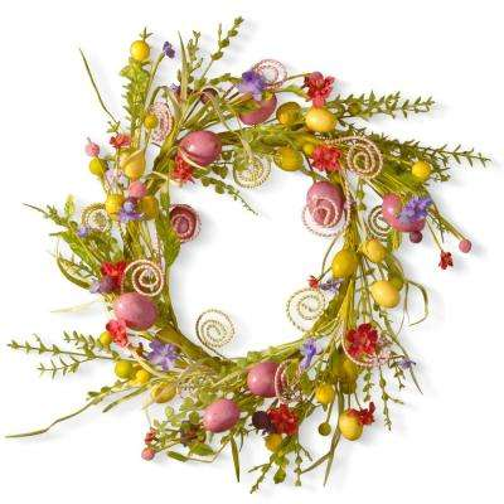 24 in. Garden Accents Easter Wreath