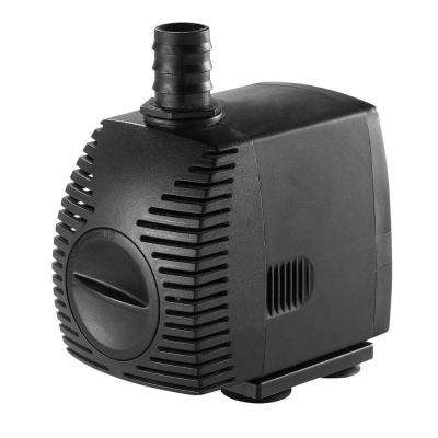 500 GPH Pond Pump for Water Gardening and Water Features