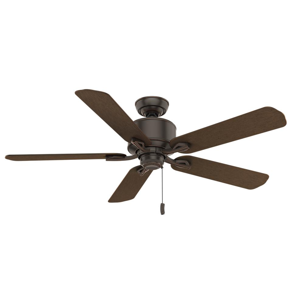 Compass Point 54 in. Indoor Onyx Bengal Ceiling Fan