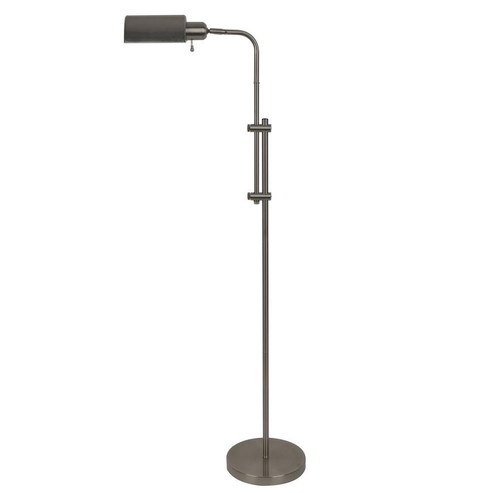 Decor Therapy Harvey Pharmacy 60 5 In Brushed Steel Floor