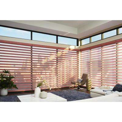 Installed Hunter Douglas Pirouette Window Shadings