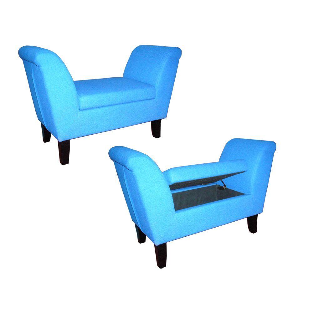 HB Blue Settees