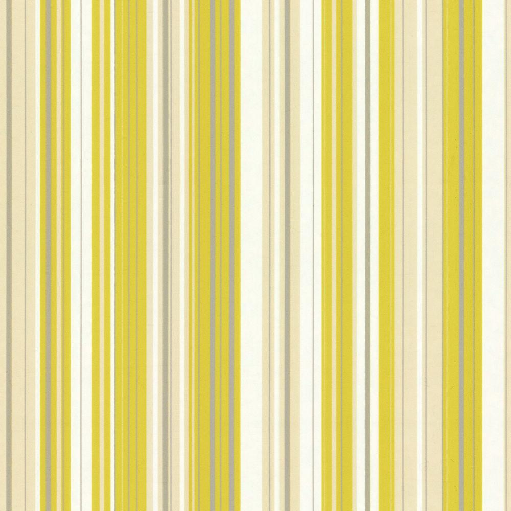 The Wallpaper Company 8 in. x 10 in. Jade Stripe Wallpaper Sample