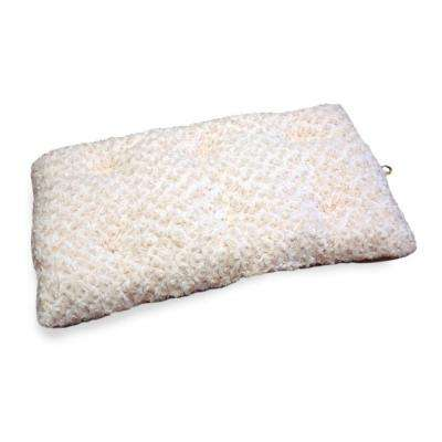 Lavish Cushion XX-Large Latte Pillow Furry Pet Bed