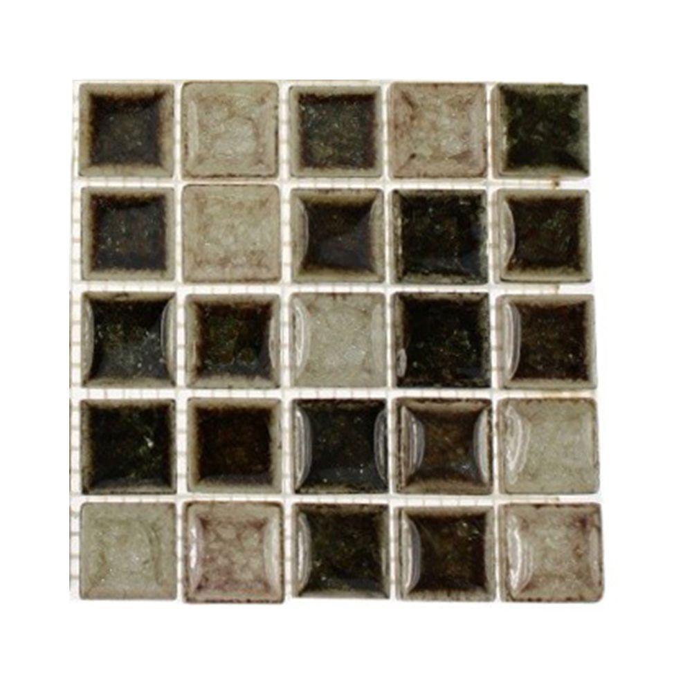 Splashback Tile Roman Selection IL Fango 3 in. x 6 in. x 8 mm Glass ...