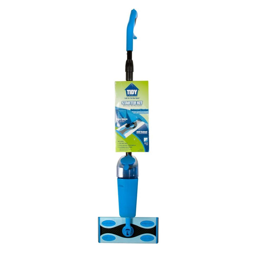 Tidy Tools Wet Mop with Telescope Pole System