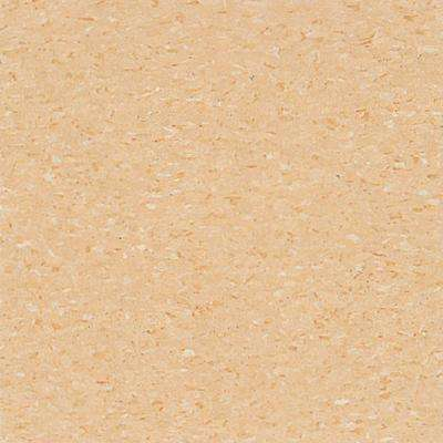 Take Home Sample - Imperial Texture VCT Doeskin Peach Standard Excelon Commercial Vinyl Tile - 6 in. x 6 in.