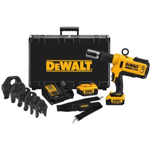 Dewalt 20-Volt MAX Lithium-Ion Cordless Copper Pipe Crimper Kit with (2)... by DEWALT