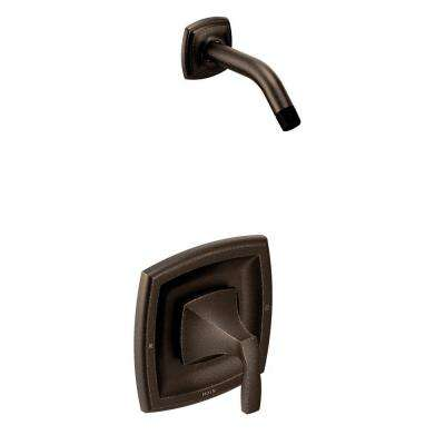 Voss 1-Handle Shower Trim Kit Less Showerhead in Oil Rubbed Bronze (Valve Not Included)