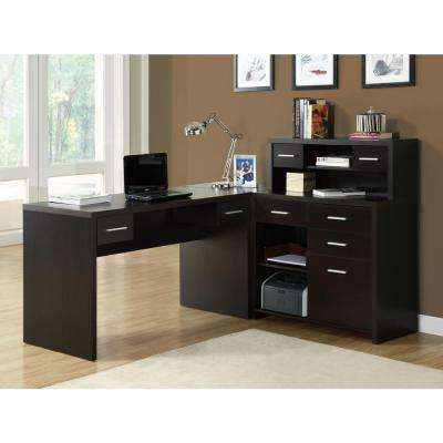 2-Piece Cappuccino Office Suite