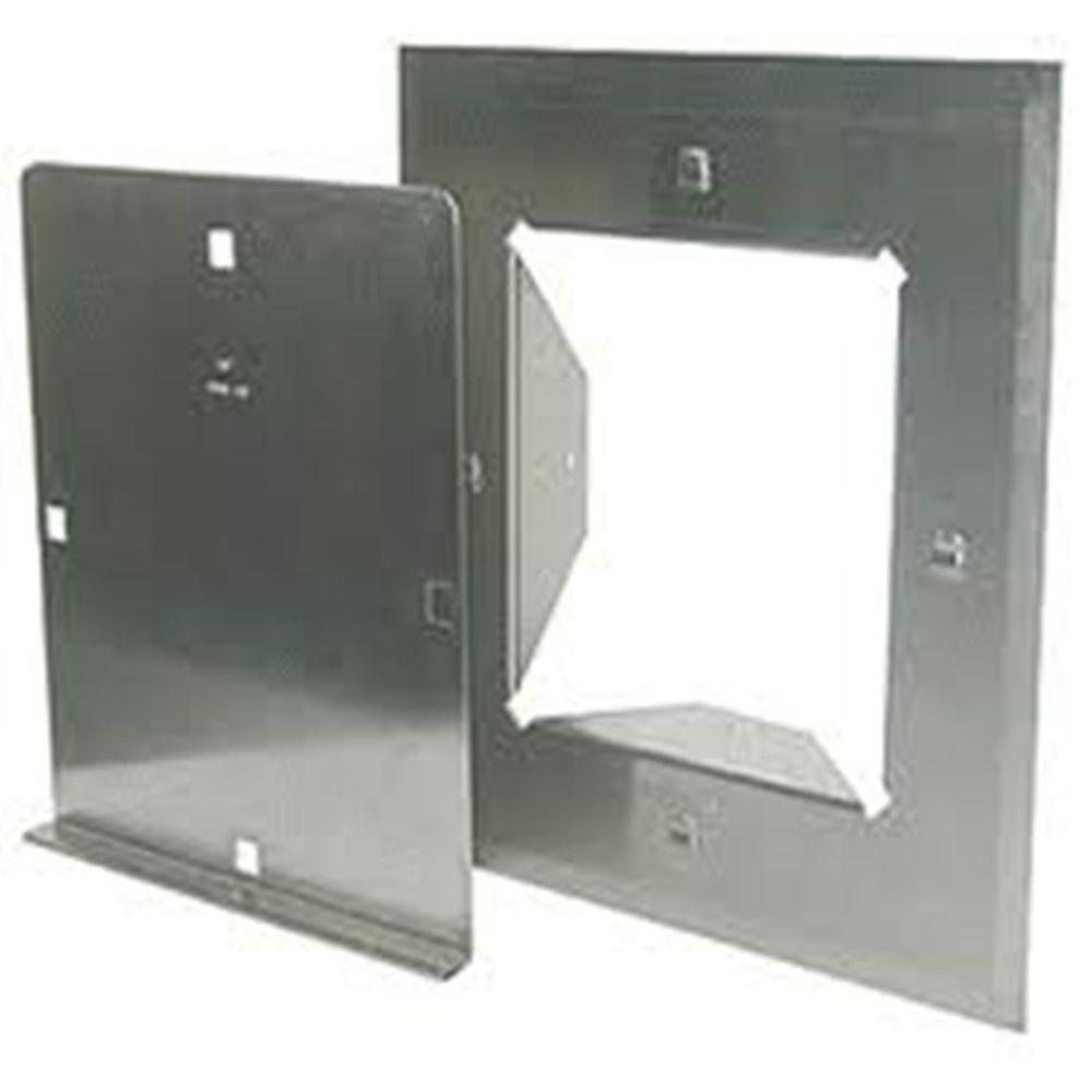 Chimney Access Panel ~ The forever cap in stainless steel clean out