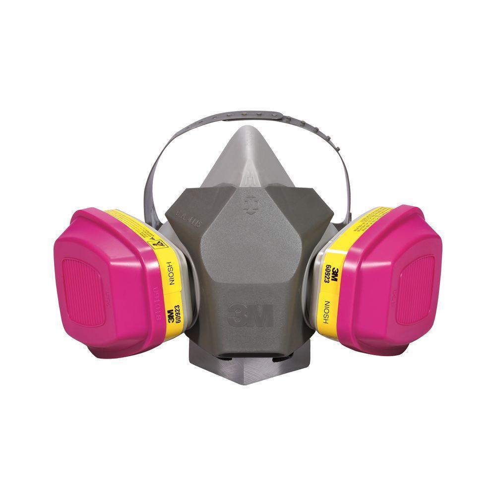 3M Drop Down Feature Large Professional Multi-Purpose Respirator (Case of 4)