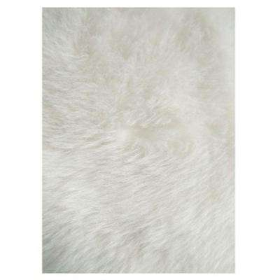 Flokati White 3 ft. 3 in. x 4 ft. 10 in. Area Rug