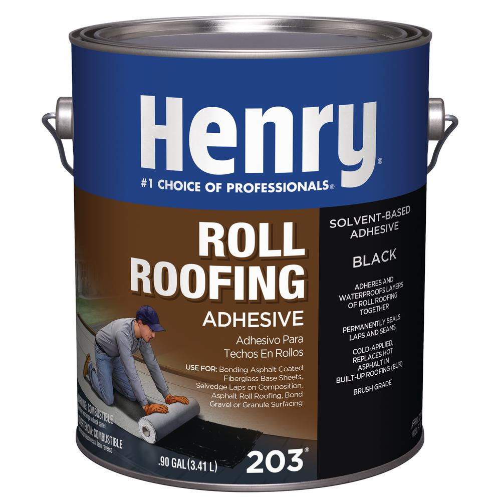 Henry 0 90 Gal  203 Roll Roofing Adhesive