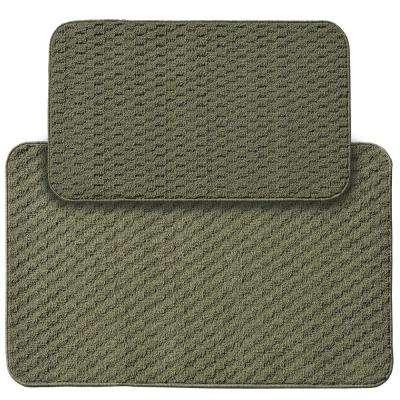 Town Square Sage 2 ft. x 3 ft. 4 in. 2-Piece Rug Set