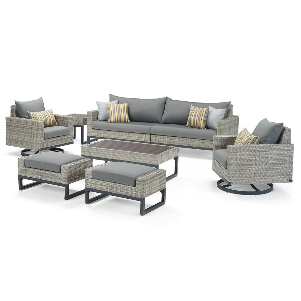 Gray Motion Wicker Product Picture