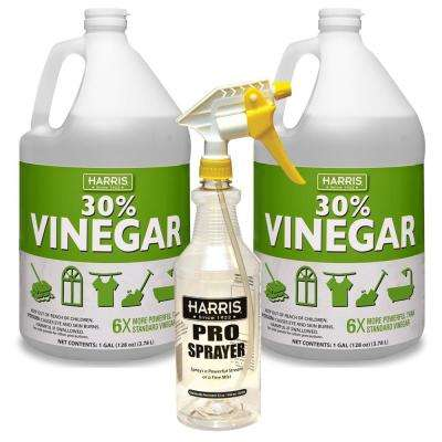 256 oz. 30% Vinegar Concentrate (2-Pack) with 32 oz. Professional Spray Bottle Value Pack