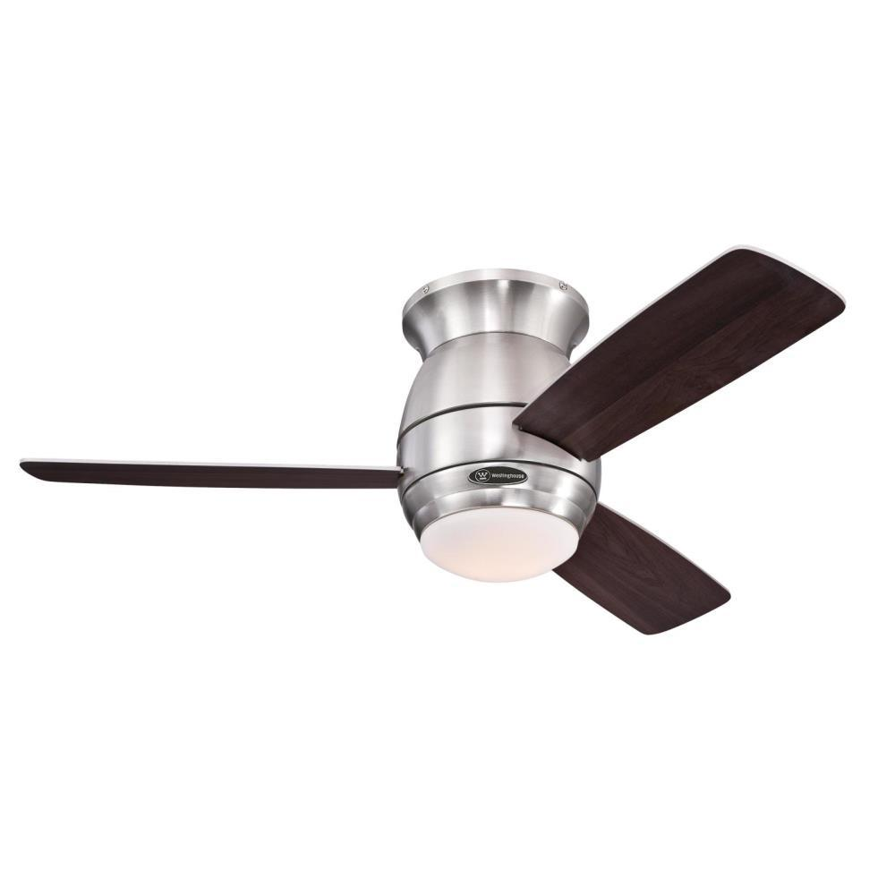 Westinghouse Halley 44 In Indoor Brushed Nickel Ceiling Fan With Remote Control