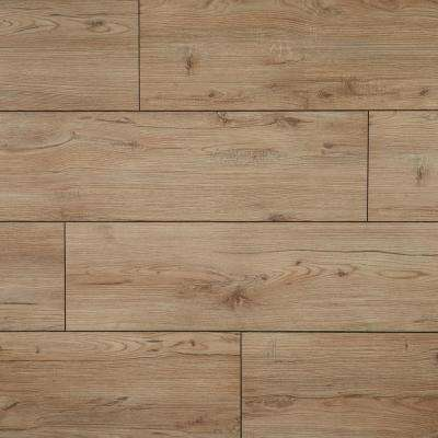 EIR Rybrook Chestnut 12 mm Thick x 7-5/8 in. Wide x 54-1/3 in. Length Laminate Flooring (14.18 sq. ft. / case)