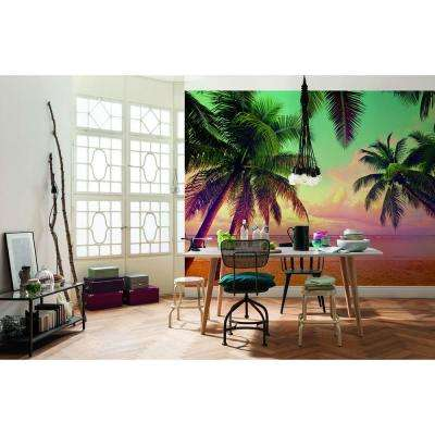 100 in. H x 145 in. W Miami Wall Mural