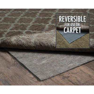 Premium All Surface Gray 8 ft. x 11 ft. Rug Pad