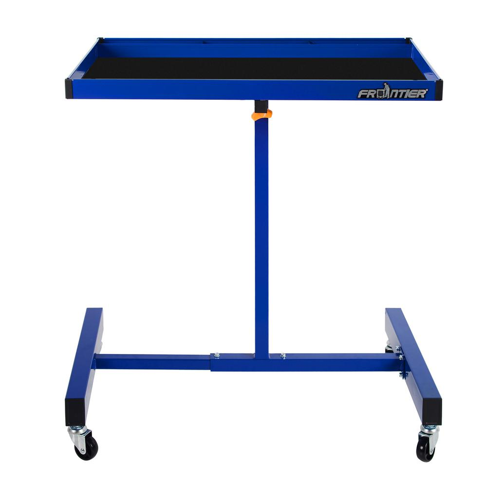 Frontier Frontier 32 in. Portable Utility Cart in Blue