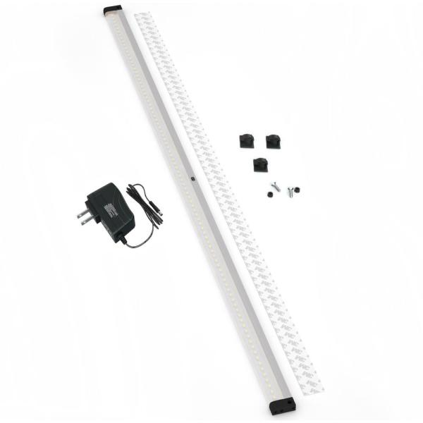 40 in. LED 3000K Black Under Cabinet Lighting, Dimmable Hand Wave Activated (1-Pack)