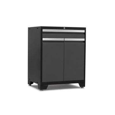Pro 3.0 Series 28 in. W x 35.5 in. H x 22 in. D 18-Gauge Welded Steel Multifunction Cabinet in Gray