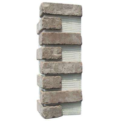 21 in. x 15 in. x 0.5 in. Rushmore Brickweb Thin Brick Corners